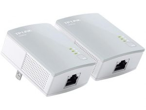 Powerline ethernet adapter for Home Phone System